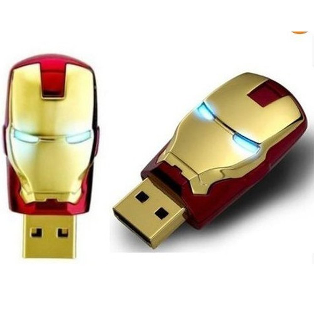 Toys For Geeks : Iron man usb flash drive crazygeektoys